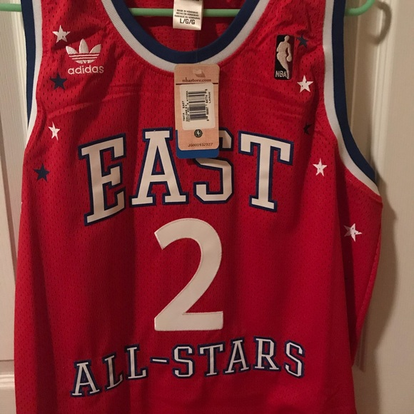 check out 9ae53 5a2aa Adidas Karl Malone All Star Jersey NWT